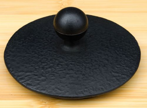 Flared cast iron lid -  Lid for Cast Iron tea pot – 8.6cm diameter
